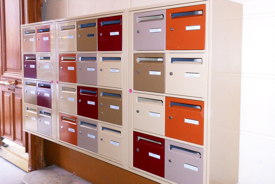 mercier boites aux lettres collectives. Black Bedroom Furniture Sets. Home Design Ideas
