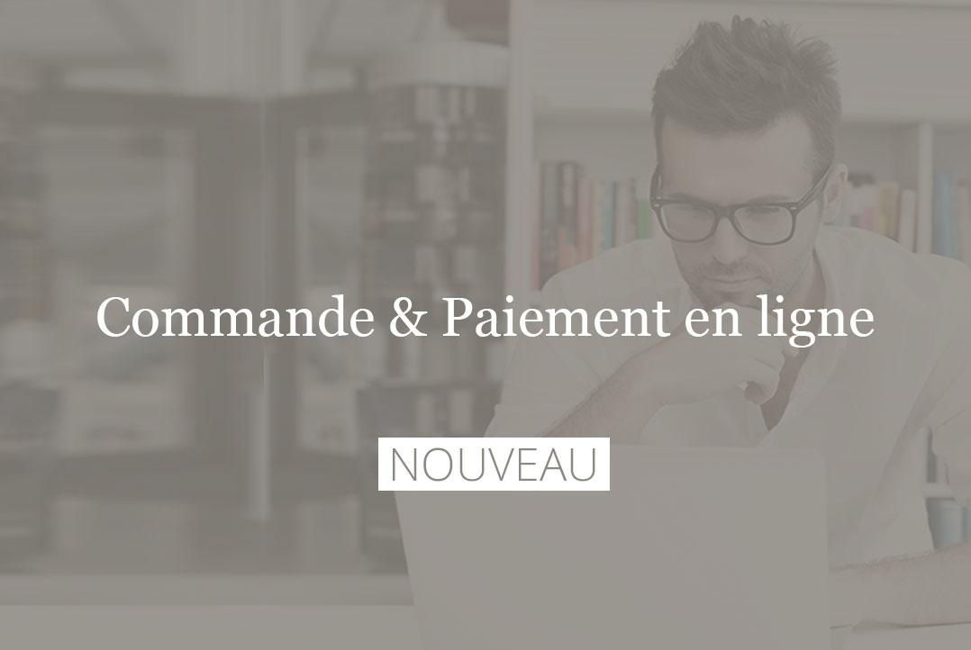 Commandez et payez en ligne chez Mercier Paris